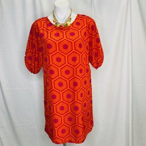 Anthropologie Emmelee Geometric Dress